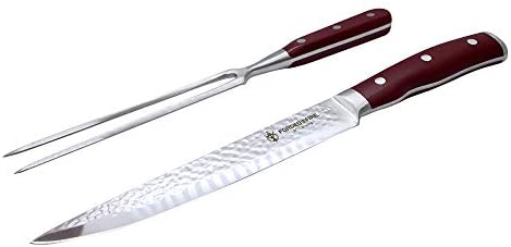 HISTORY Forged In Fire Carving Knife Fork 2pc set product image