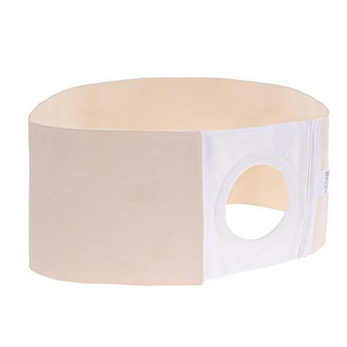 Unisex Stoma Gürtel, Atmungsaktiv Stomabandage haut Stomaversorgung, Post Colostomy Bauchstütze Stoma Bandage, Bauch- und Rückenstützgürtel, erhältlich in 3 Größen(XL)