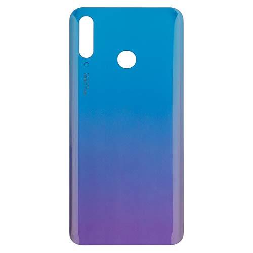 swark Tapa de batería de repuesto compatible con Huawei P30 Lite MAR-L01A MAR-L21A MAR-LX1A Peacock Blue Tapa de batería