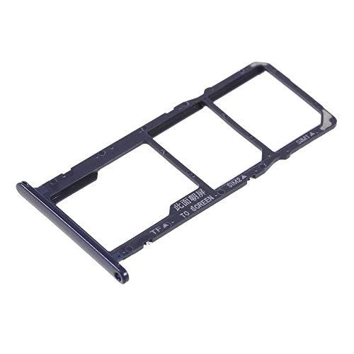 Voor Huawei Y5 (2018) / Honor 7S SCHERMO 5.45 Try Tray kaarthouder OEM Dual SIM Card Sim1 Sim2 + slot slot slot slot voor Micro SD geheugenkaarten, PER HUAWEI Y5 (2018), Blauw