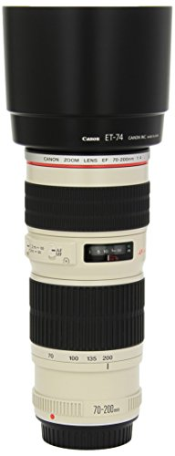 Canon EF 70-200mm f/4L USM Telephoto Zoom Lens for Canon SLR Cameras (Renewed)
