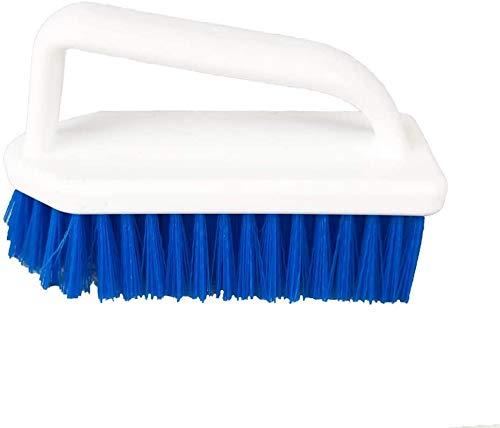 well2wellness® stabile Pool Reinigungsbürste Handbürste CLEAN mit Griff und verstärkten Borsten