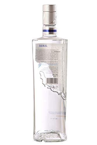 Baikal Vodka, sibirischer Premium Wodka 40% vol., Qualitäts Vodka mit Wasser des Baikalsees hergestellt (1 x 0.7 l) - 2
