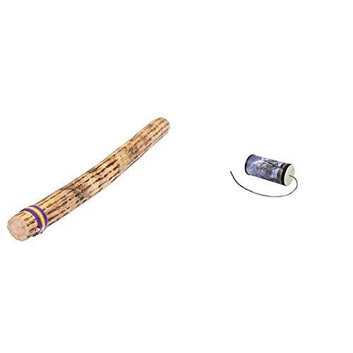 Fuzeau - Bâton de pluie - En Cactus - L 75 cm - Un Son Véritable Authentique - A partir de 8 ans & Tube Tonnerre Moyen - ø 9 cm - Reproduire le Bruit de l'Orage - Dès 8 ans