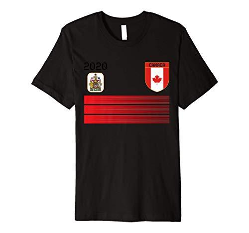 Canada Football Jersey 2020 Canada Soccer Canada Football Premium T-Shirt