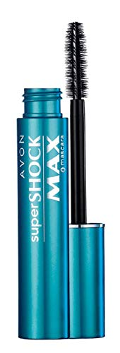 Avon Color Super Shock Max Waterproof Mascara, Black, 10g