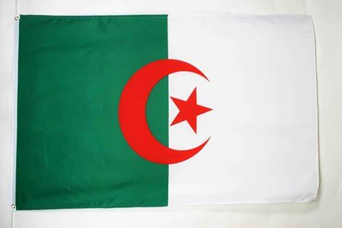 AZ FLAG Flagge ALGERIEN 150x90cm - ALGERISCHE Fahne 90 x 150 cm - flaggen Top Qualität