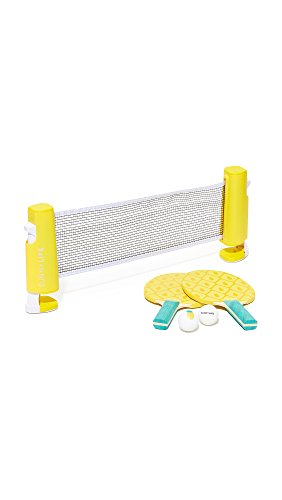 SunnyLIFE Table Top Tennis Game Ping Pong Set for Kids and Adults...