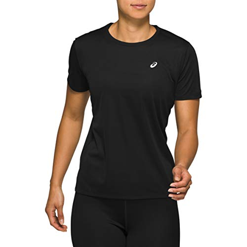 ASICS Katakana SS Top Women Performance Black 2019 Loopshirt korte mouwen