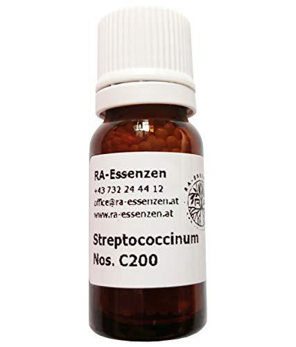 Streptococcinum Nos. C200, 10g Bio-Globuli, radionisch informiert - in Apothekenqualität