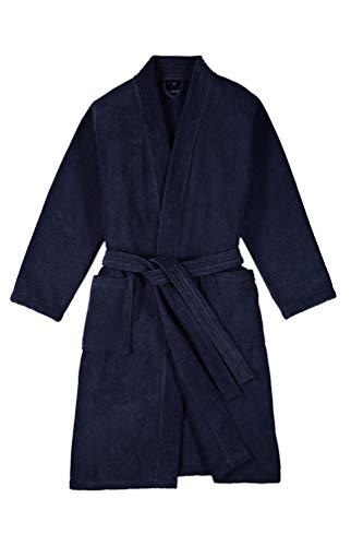 Joop! Bademantel Herren Kimono 1647 Blau - 175 L