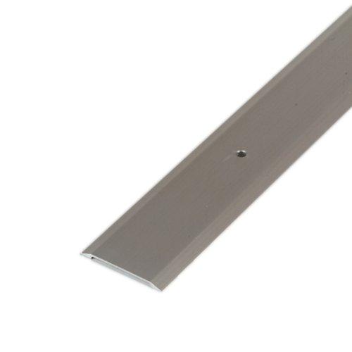 M-D Building Products 49010 M-D Premium Flat Saddle Threshold, 36 in L X 1-3/4 in W X 1/8 in H, Aluminum, 36.25
