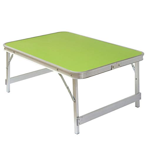 Laptoptafel, inklapbaar, voor het ontbijt of het dienblad, draagbaar, mini-tafel/picknick/bank van aluminiumlegering.