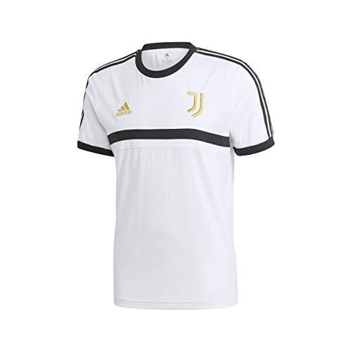 adidas Performance Juventus Turin 3S T-Shirt Herren weiß/schwarz, L