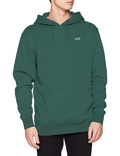 Vans Basic Pullover Fleece Sudadera con capucha, Aguja de pino, XS para Hombre
