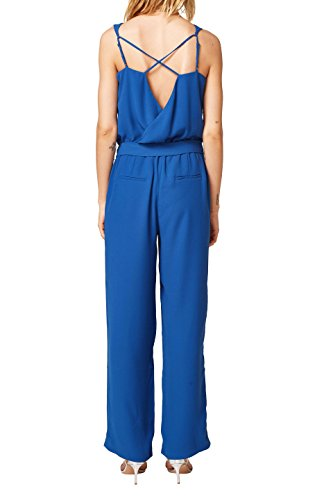 ESPRIT Collection Damen Jumpsuit, Blau (Bright Blue) - 2