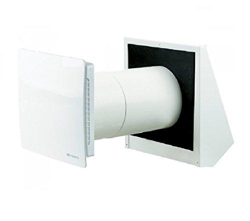 Vents /Twin Fresh R-1 50 / Ventilación descentralizada para vivienda con recuperación de calor / funcionamiento silencioso (14-29 dBA) / Ø150