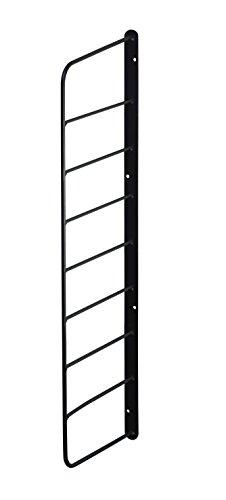 平安伸銅工業 LABRICO シェルフフレーム WFK-56 1×6木材・パイン材用 石膏ボードピンまたはネジで取付 ブラック