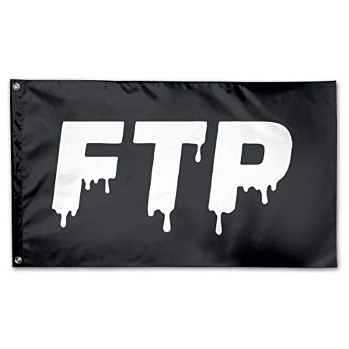 Jsvnoid Jlvdfm FTP Savage Logo 3 X 5 Foot Outdoor Decorative Yard Flag Home Garden Flag