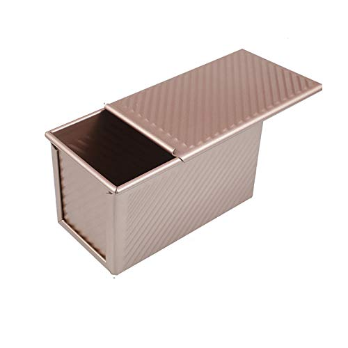Loaf Pan with Lid, Shinsin Upgraded Pullman Loaf Pan with Cover, Non-Stick Heavy Gauge Bread Pan Bakeware Bread Toast Mold for Homemade Cakes