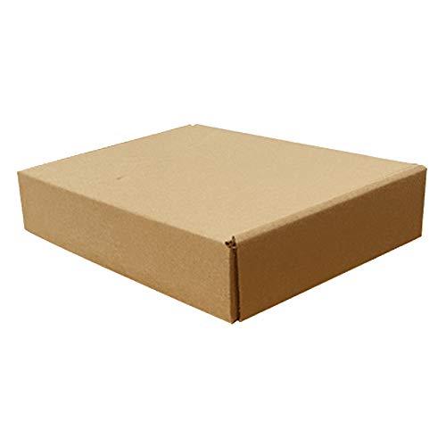 Jorzer Cajas Mover Grandes 30x21x5cm Embalaje Cajas De Cartón, Cartón Fuerte Embalaje...