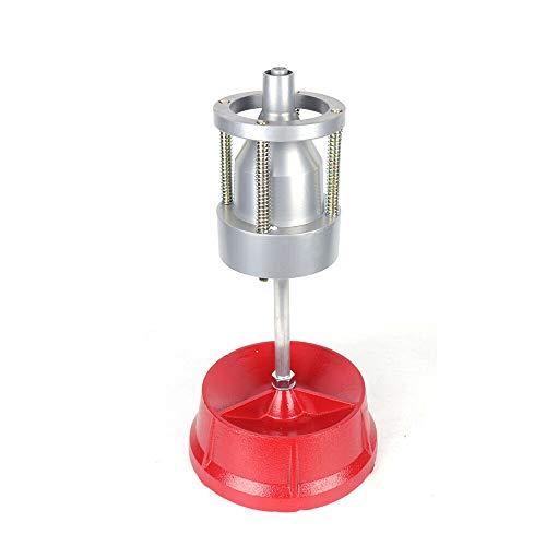 Equilibrador de Ruedas Profesional Aluminio Head Equilibrador de Ruedas de Coche Portátil para Rojo, para Neumáticos de Coches y Camiones de 1 a 4 Pulgadas