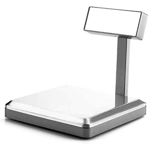 Lacor 61746- Bilancia elettronica da cucina, inox, 5 Kg, electric, argento, acciaio inossidabile