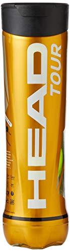 HEAD Unisex Tour 2x4 Ball Tube Tennis, Gelb, One Size