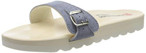 Berkemann Herren City O-Sandale Pantoletten, Blau (Jeansblau 346), 40 EU