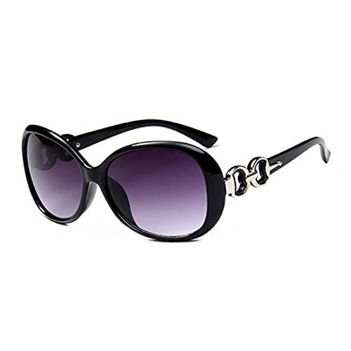 ShZyywrl Gafas De Sol Gafas De Sol Cuadradas De Moda para Mujer, Gafas De Sol Púrpuras Grandes De Lujo para Mujer, Espejos Rd51-1