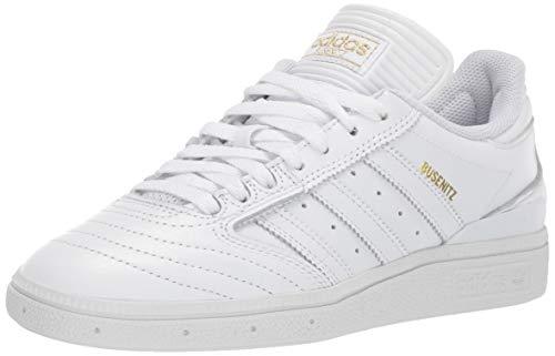 adidas Originals Busenitz, Zapatillas Deportivas. Hombre, Blanco, Dorado metálico Blanco, 46 EU