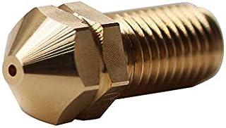 1 stuk 3D Printer Onderdelen Printkop Messing Nozzle 0.4mm Compatibel voor 3.0mm Ultimaker 3, Ultimaker 3 Uitgebreid, Ulti...