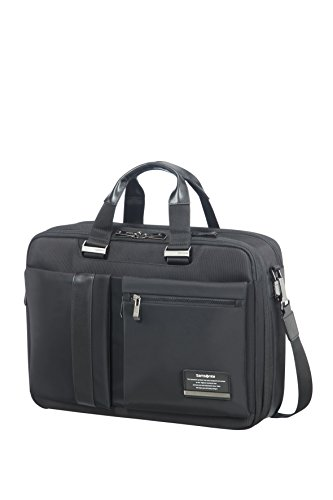 SAMSONITE 3WAY BAG 15.6' EXP (JET BLACK) -OPENROAD  Bagaglio a mano, 0 cm, Nero