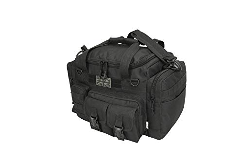 *New* Kombat Tactical Saxon 35 Litre Holdall Black - Police Security Special Forces Car Patrol Bag...