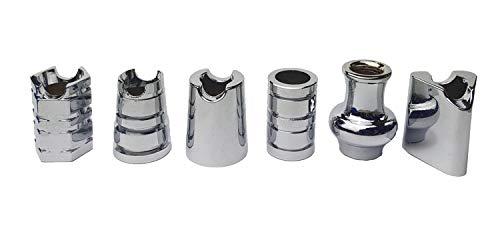 yaoviz® 6X Glutkiller für Aschenbecher Silber div. Formen schwere Qualität offen Gluttöter Glutlöscher
