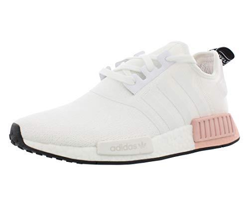 adidas Originals Men's NMD_R1 Running Shoe, White/Vapour Pink, 7 M US
