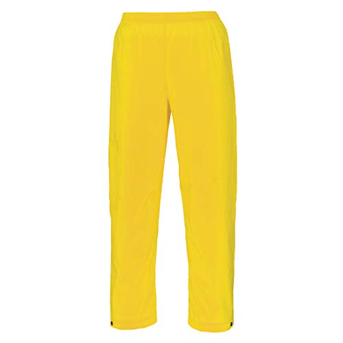 Portwest S251 - Pantalones Sealtex Mar, color Amarillo, talla XL