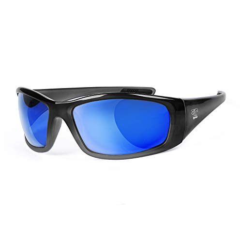 Floating Sunglasses with Polarized Lenses- Ideal for Fishing, Boating, Kayaking, Paddling and More (Cool Grey Blue)