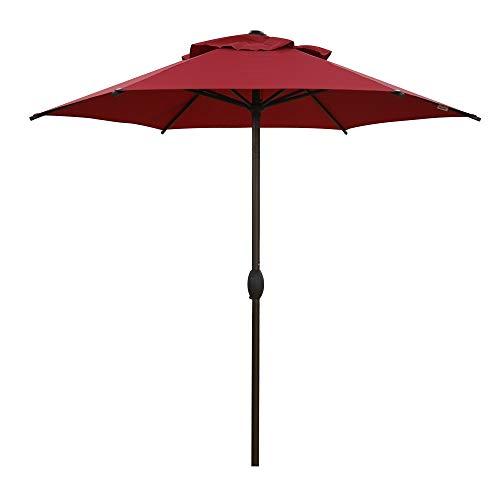 Abba Patio 7.5ft Patio Umbrella Outdoor Umbrella Patio Market...