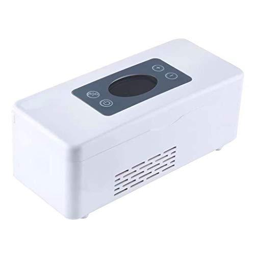 MNBX Medikamentenkühlschrank und Insulinkühler mit erweitertem Temperaturkontrollsystem - tragbare Medikamenten-Kühlbox für Auto, Reise, Zuhause