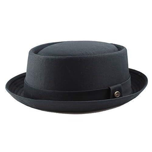 dee4a2dc THE HAT DEPOT 1400f2091 100% Cotton Paisley Lining Premium Quality Porkpie  Hat