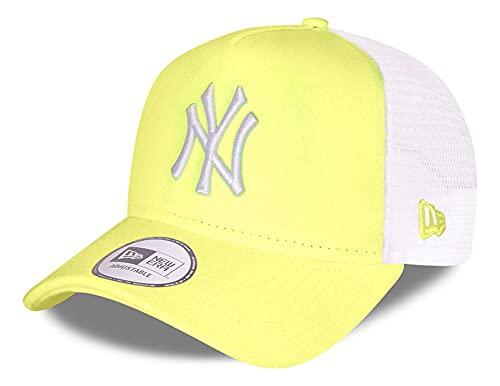 New Era - Gorra de la MLB New York Yankees Tonal Mesh Trucker - Amarillo amarillo Talla única