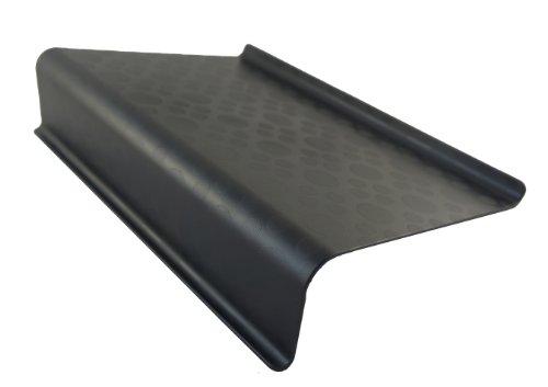 Lacasa Bedding Soporte para computadora portátil, máximo de 17 pulgadas [negro]