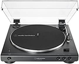 Audio-Technica AT-LP60XBT-USB-BK Fully Automatic Belt-Drive Stereo Turntable with Bluetooth and USB