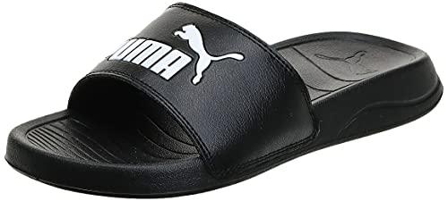 Puma Popcat 20 Jr Zapatos de Playa y Piscina, Schwarz Black White, 35.5 EU