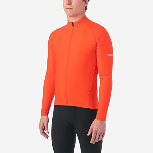 Giro heren fietskleding M Chrono Ls Thermal Jersey