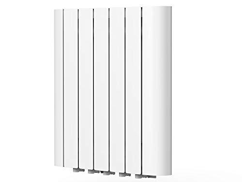 Emisor térmico de inercia digital con fluido interno,programación semanal, pantalla LCD y control WIFI Serie RADOIL de PURLINE (900 W)