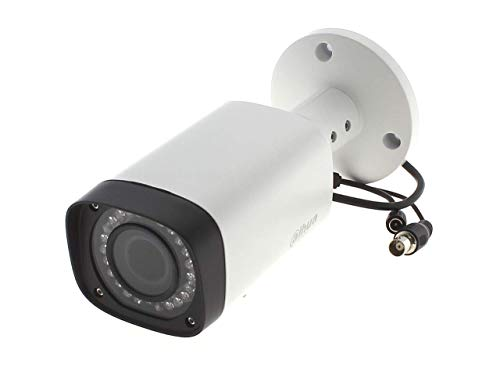 Dahua DH-HAC-HFW1100RP Cámara Bullet IR HDCVI impermeable monocromo a color de 1 MP lente fija de 6 mm.