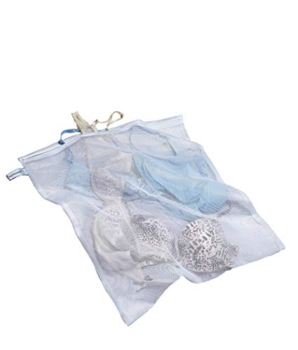 Bare Necessities Large Lingerie Wash Bag, One Size, White