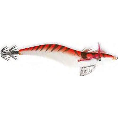 Lineaeffe Jibionera Señuelos Totanare Seta Red Misura 2.5 7.5 cm Jibionera